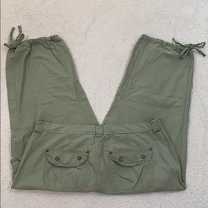 Jeanstar Cargo Crop Pants  Size 16